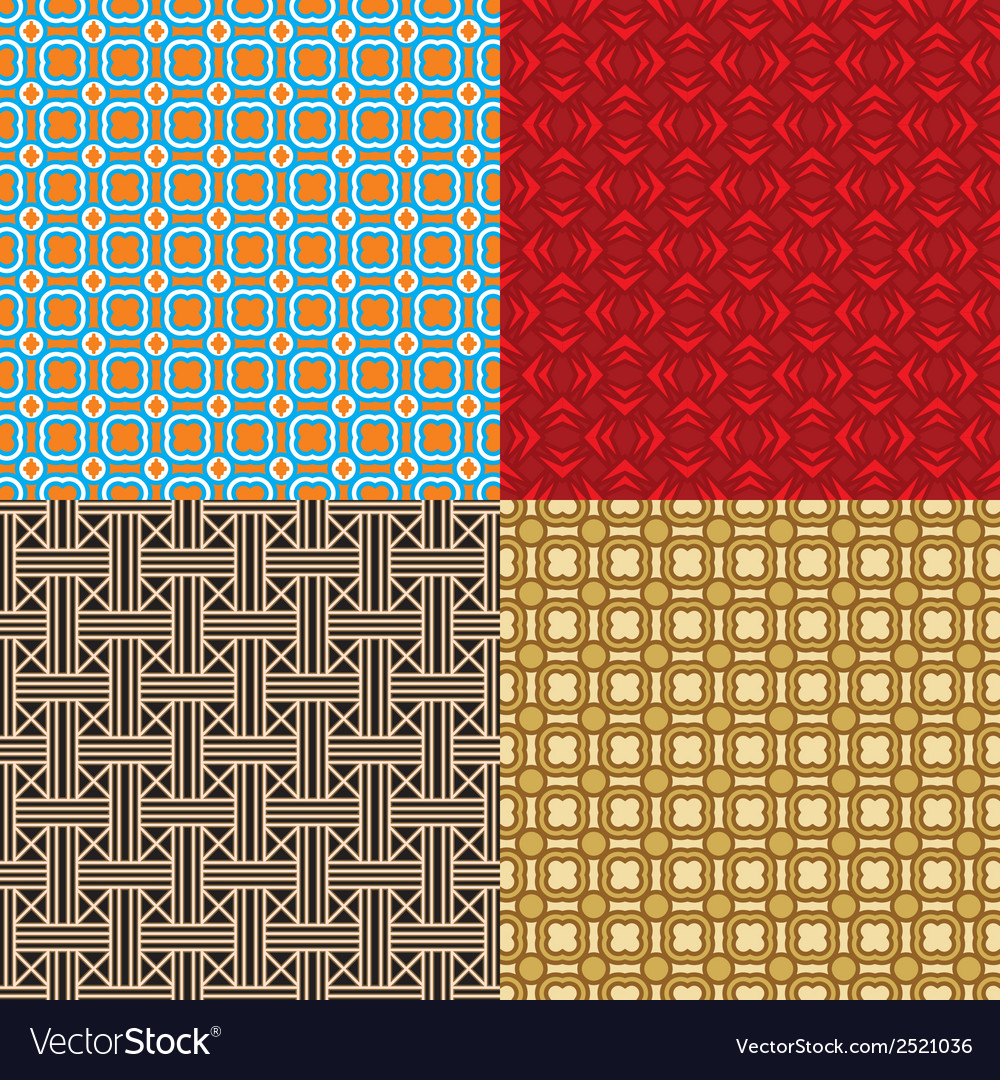 Pattern collection vector | Price: 1 Credit (USD $1)