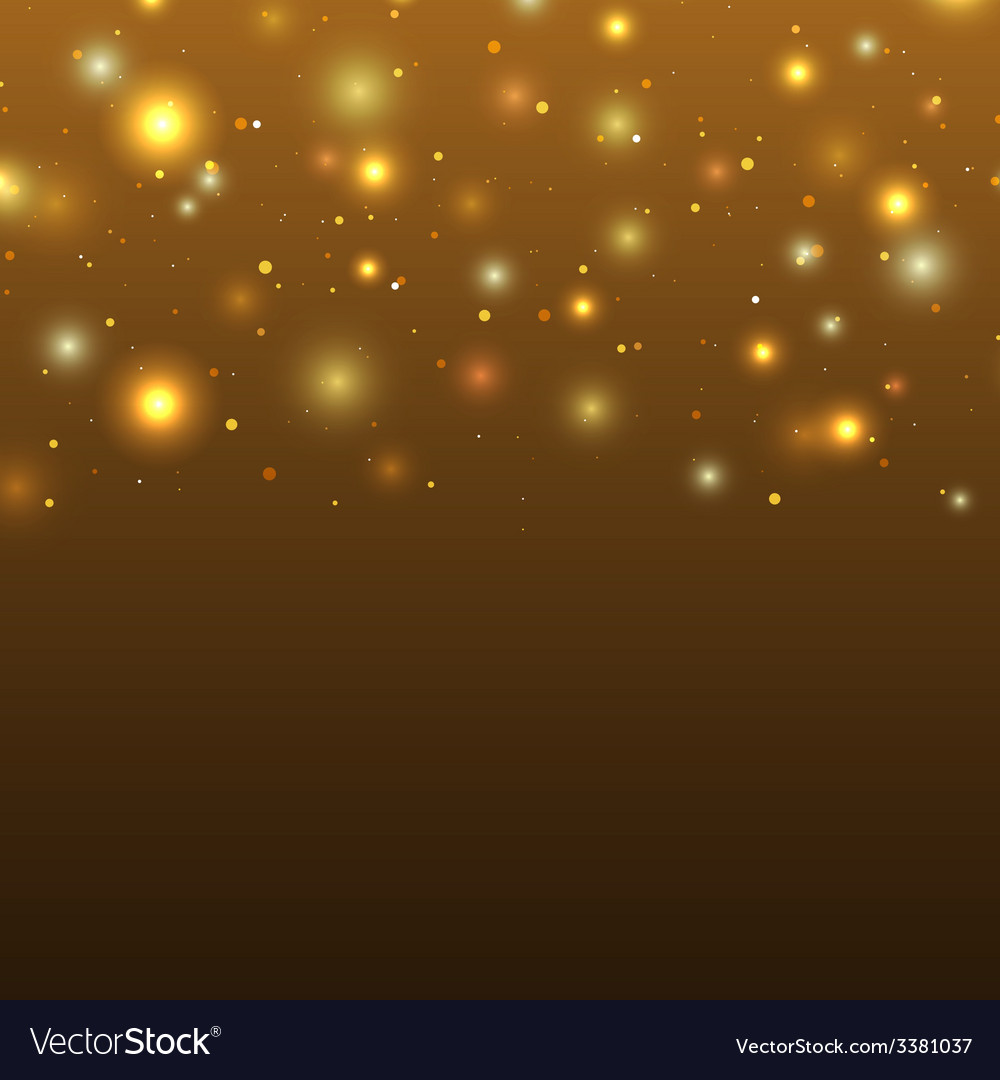Background with particles and stars vector | Price: 1 Credit (USD $1)
