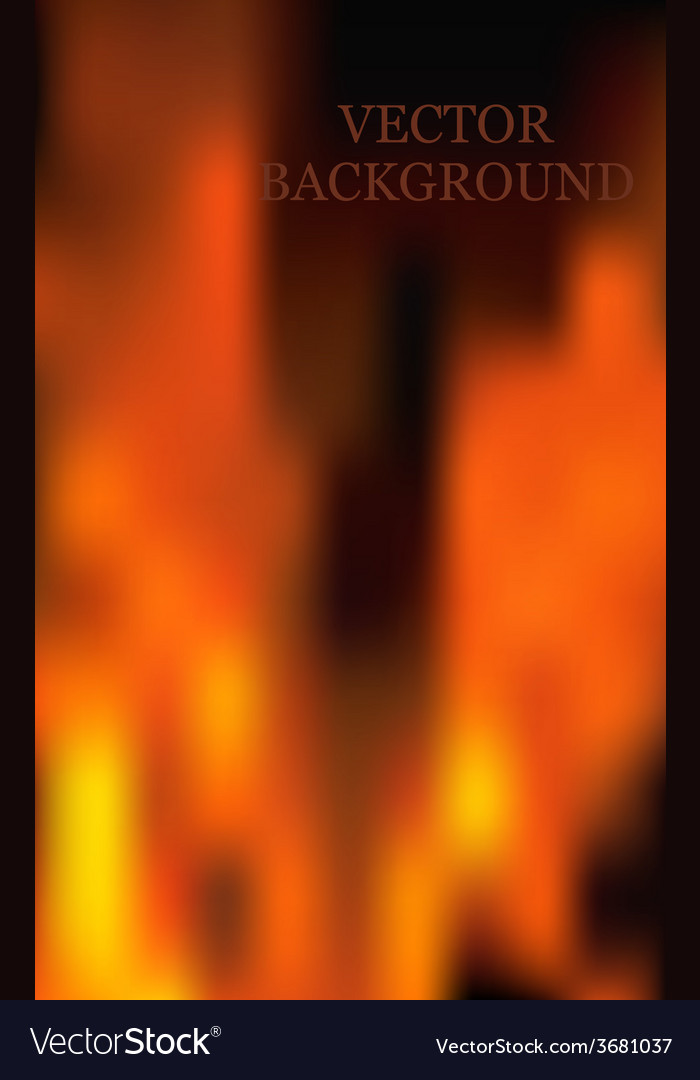 Fire flames background vector | Price: 1 Credit (USD $1)