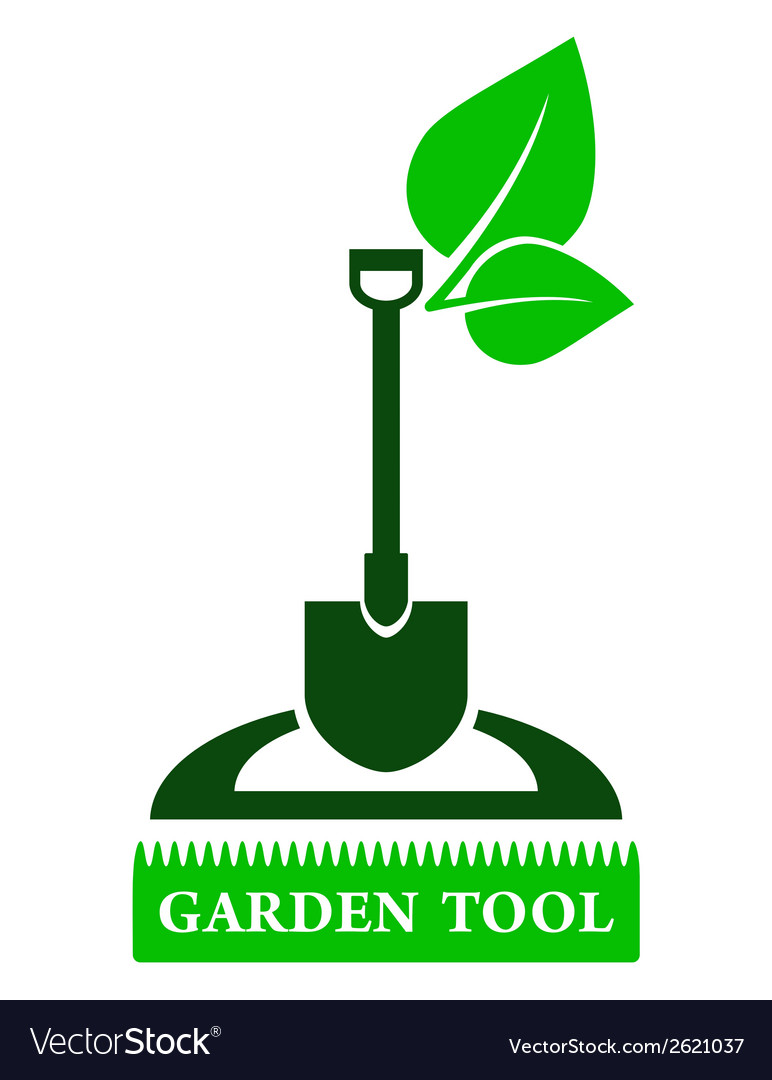 Garden tool sign vector | Price: 1 Credit (USD $1)