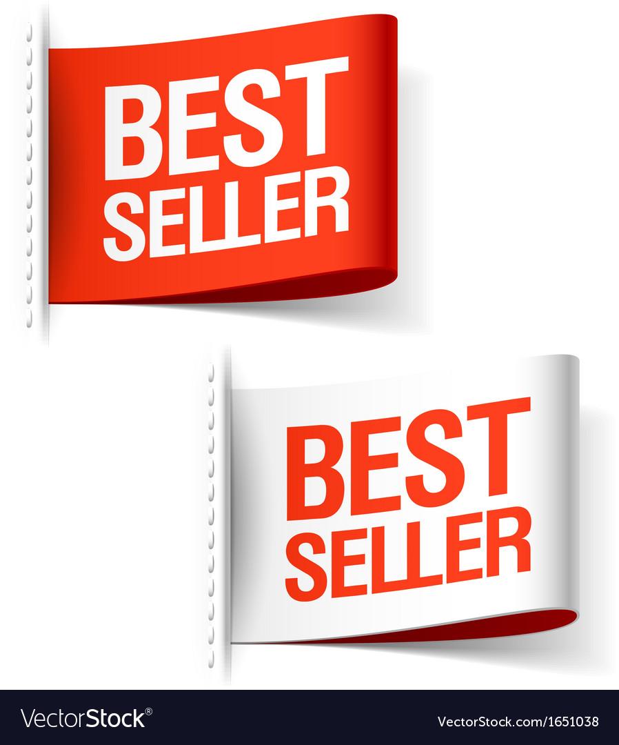 Bestseller labels vector | Price: 1 Credit (USD $1)