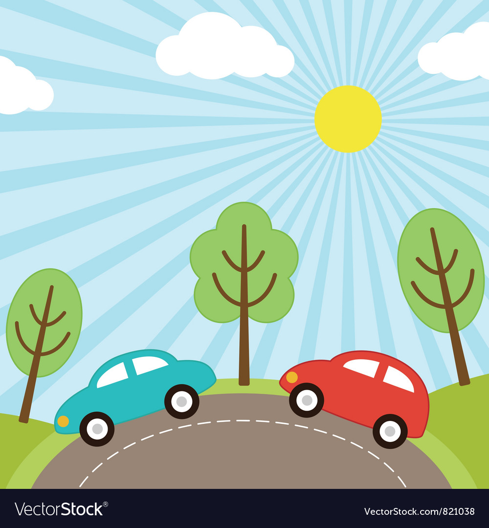 Car background vector | Price: 1 Credit (USD $1)