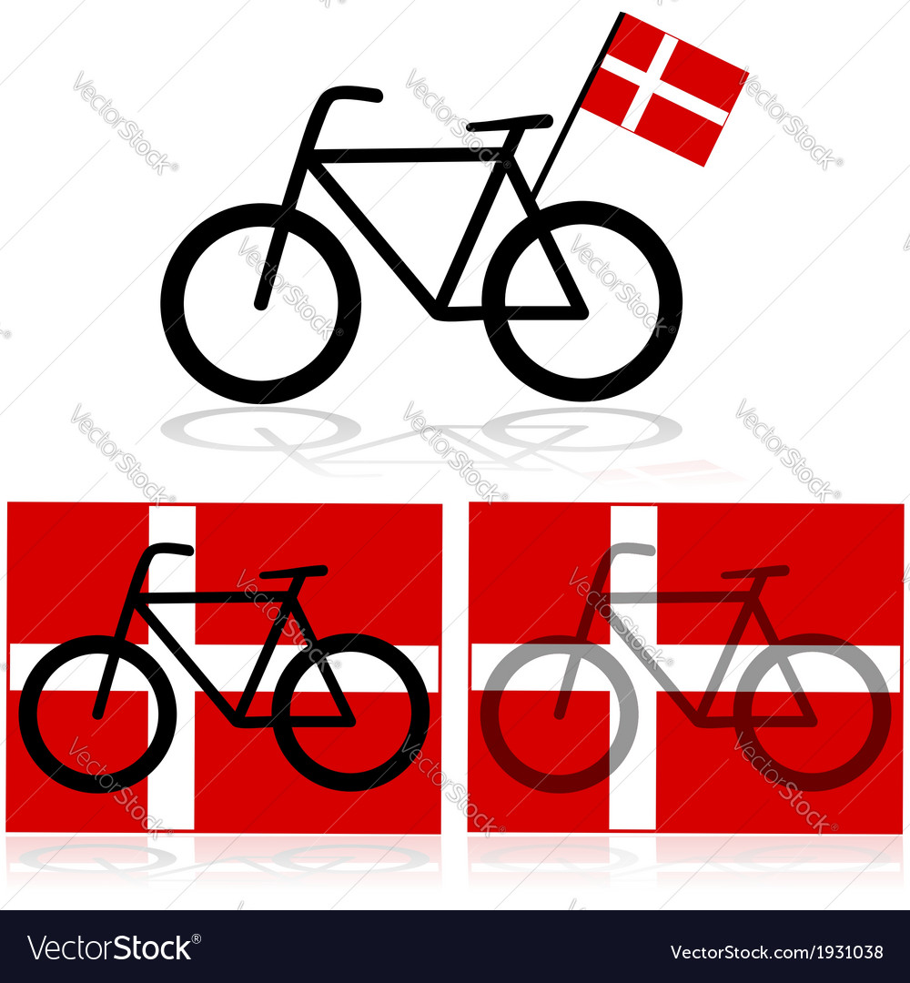 Danish bicycle vector | Price: 1 Credit (USD $1)