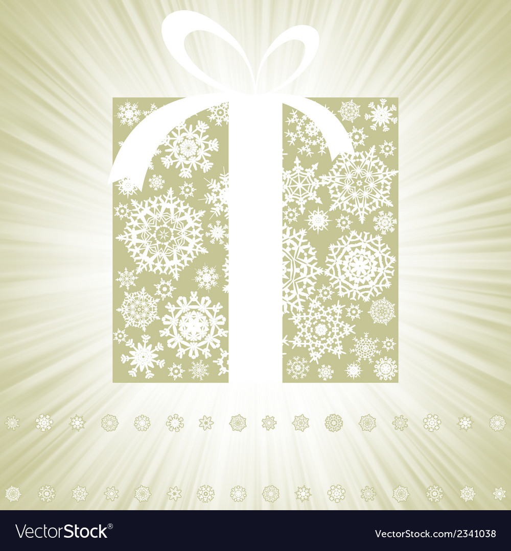 Elegant burst with gift box eps 8 vector | Price: 1 Credit (USD $1)