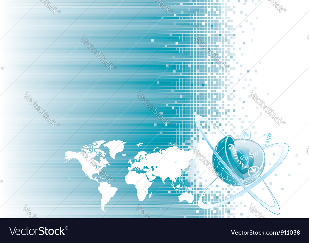 Global communication vector | Price: 1 Credit (USD $1)
