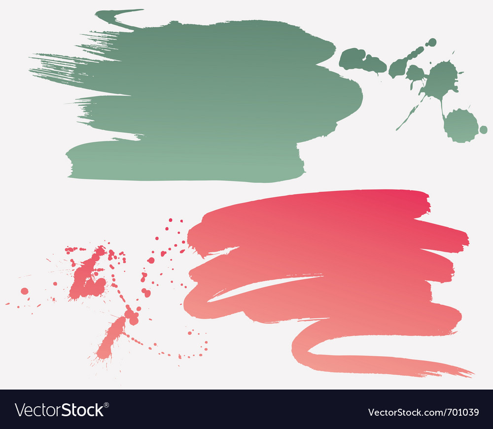 Grunge brushes vector   Price: 1 Credit (USD $1)