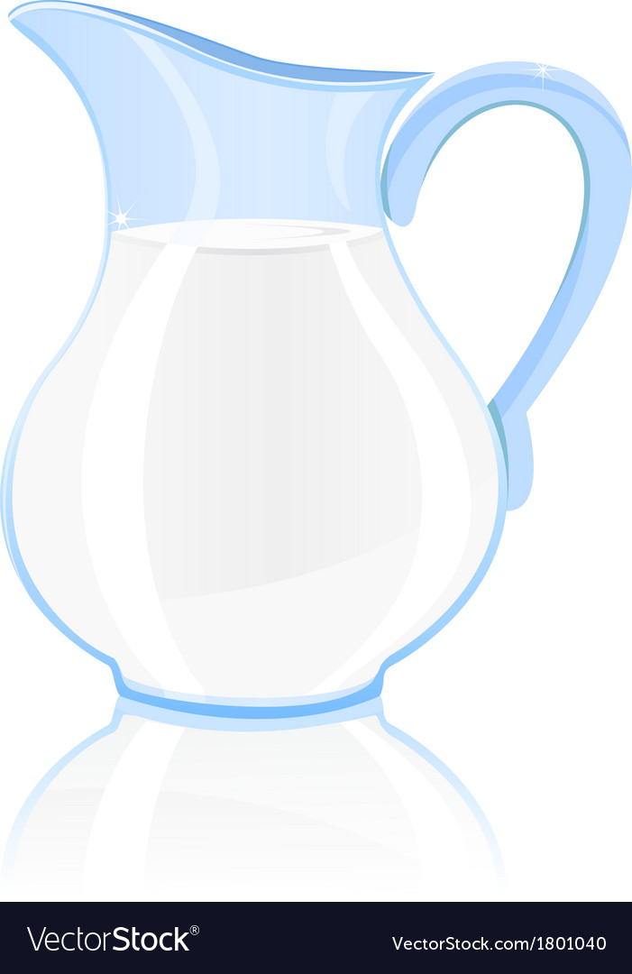 Jug of milk vector | Price: 1 Credit (USD $1)