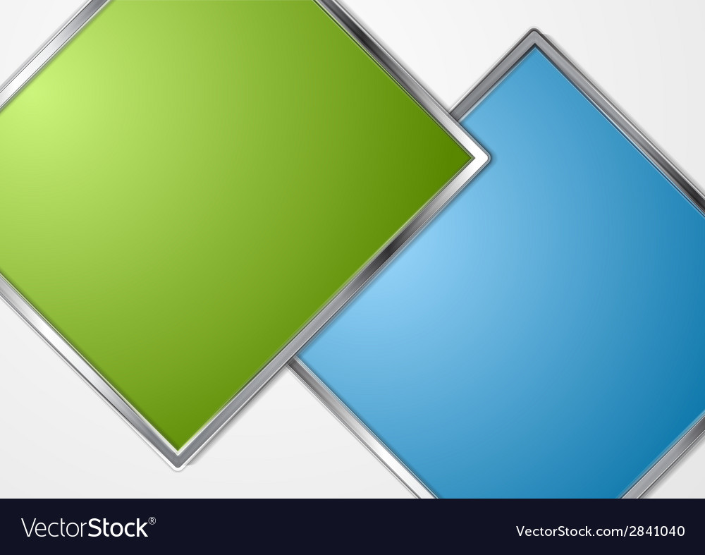 Metal squares abstract background vector | Price: 1 Credit (USD $1)