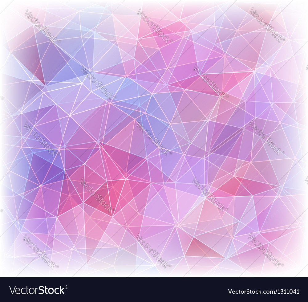Abstract geometric background with triangles vector | Price: 1 Credit (USD $1)