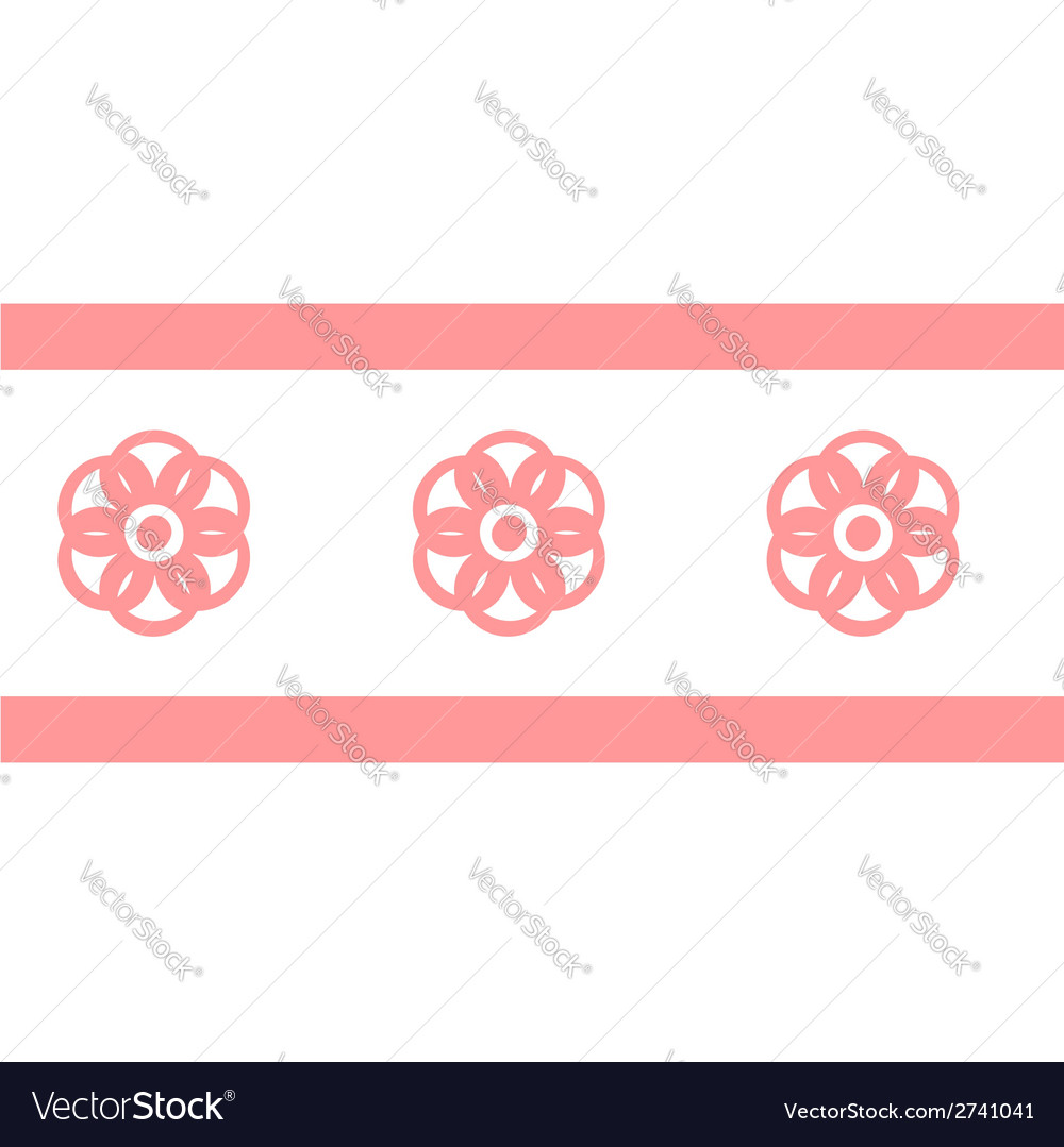 Collection pink seamless vector | Price: 1 Credit (USD $1)