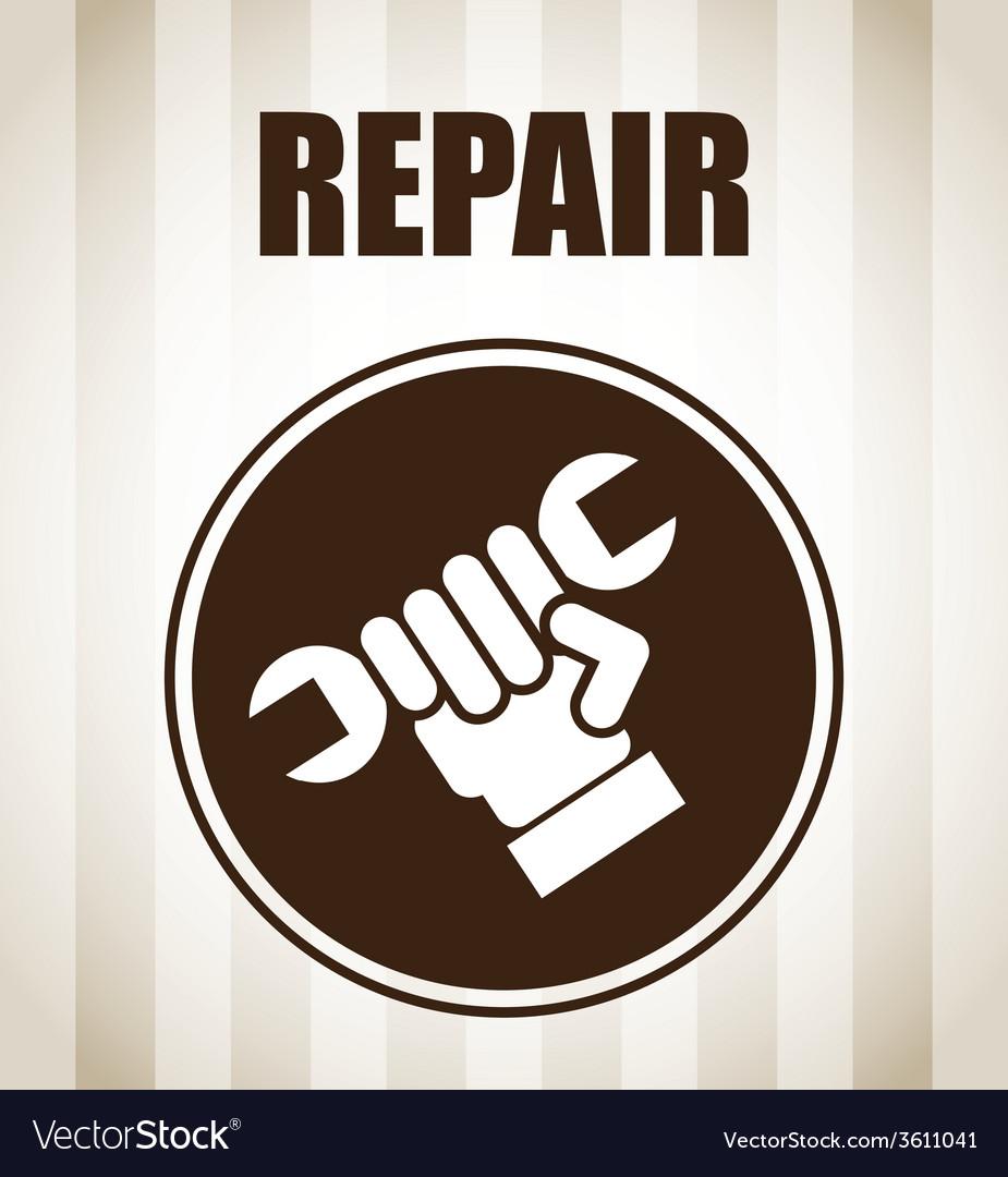 Repair service vector | Price: 1 Credit (USD $1)
