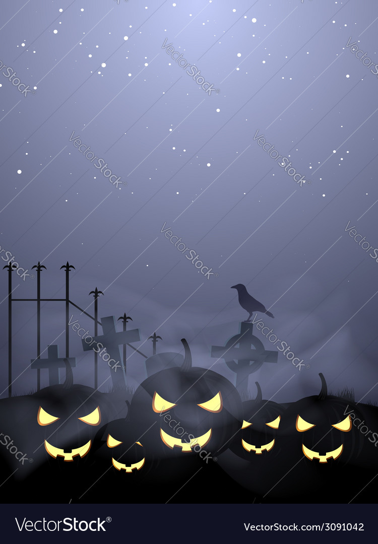 Halloween pumpkins vector | Price: 1 Credit (USD $1)