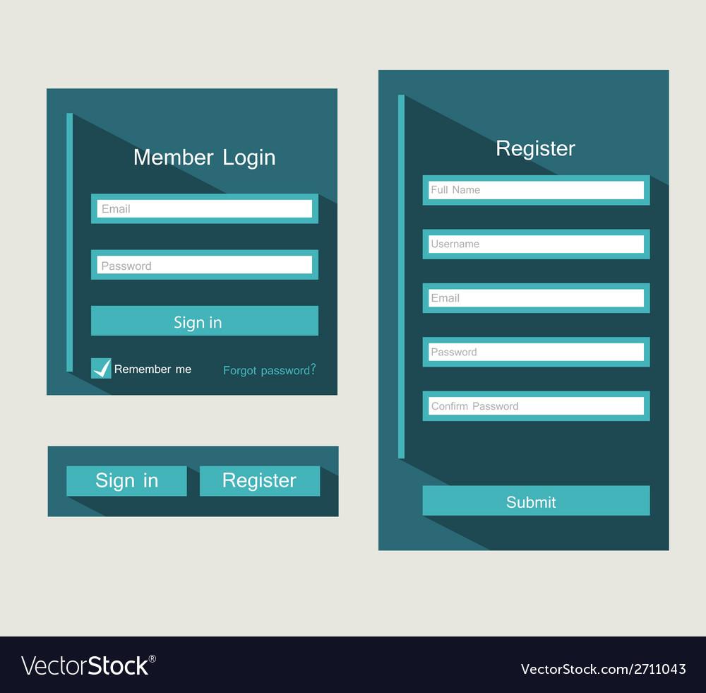 Login vector | Price: 1 Credit (USD $1)