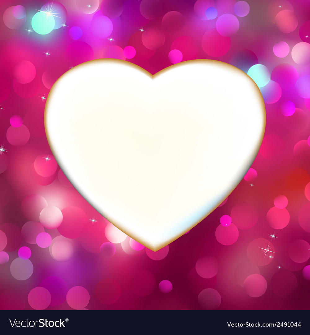 Abstract heart card in red eps 8 vector   Price: 1 Credit (USD $1)