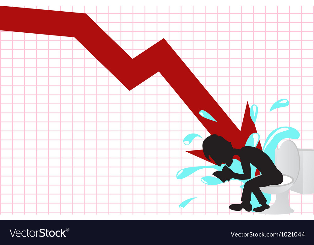 Business crash vector | Price: 1 Credit (USD $1)