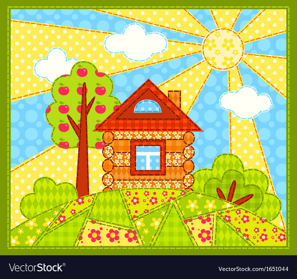 The house vector | Price: 1 Credit (USD $1)