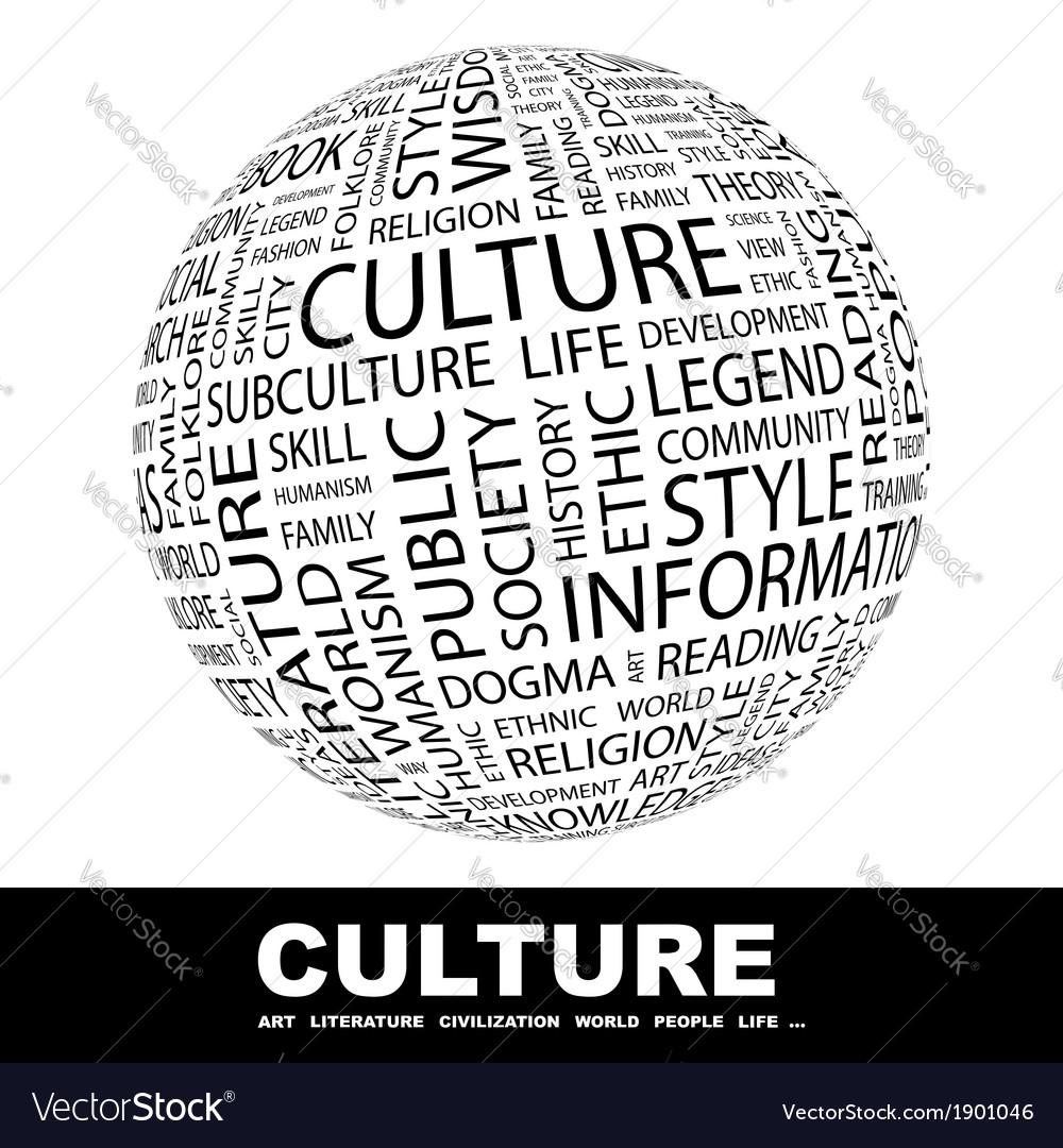 Culture vector | Price: 1 Credit (USD $1)