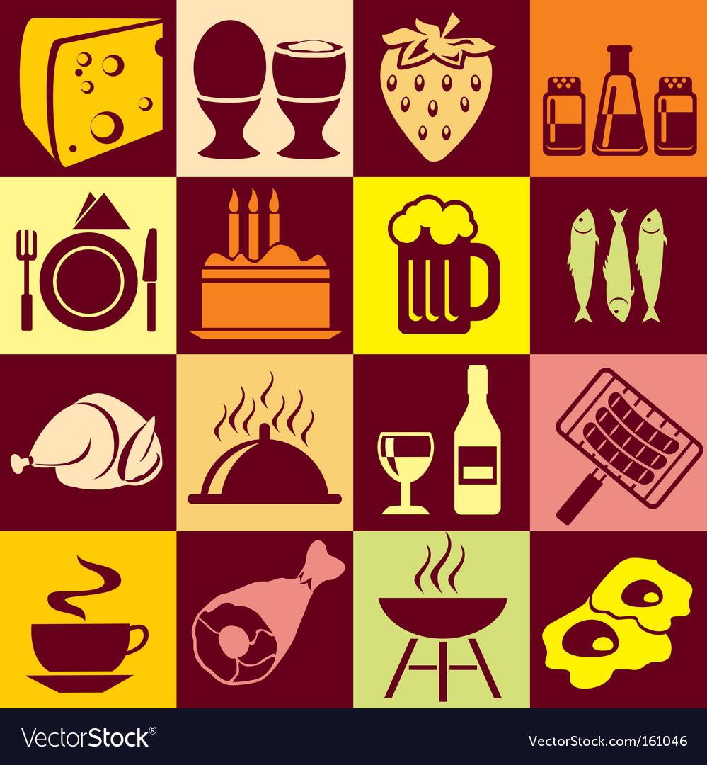 Food vector | Price: 1 Credit (USD $1)