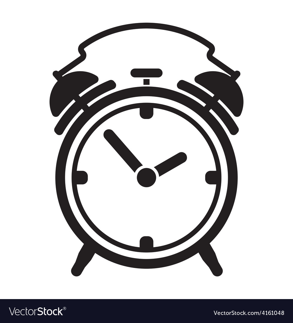 Alarm clock resize vector | Price: 1 Credit (USD $1)