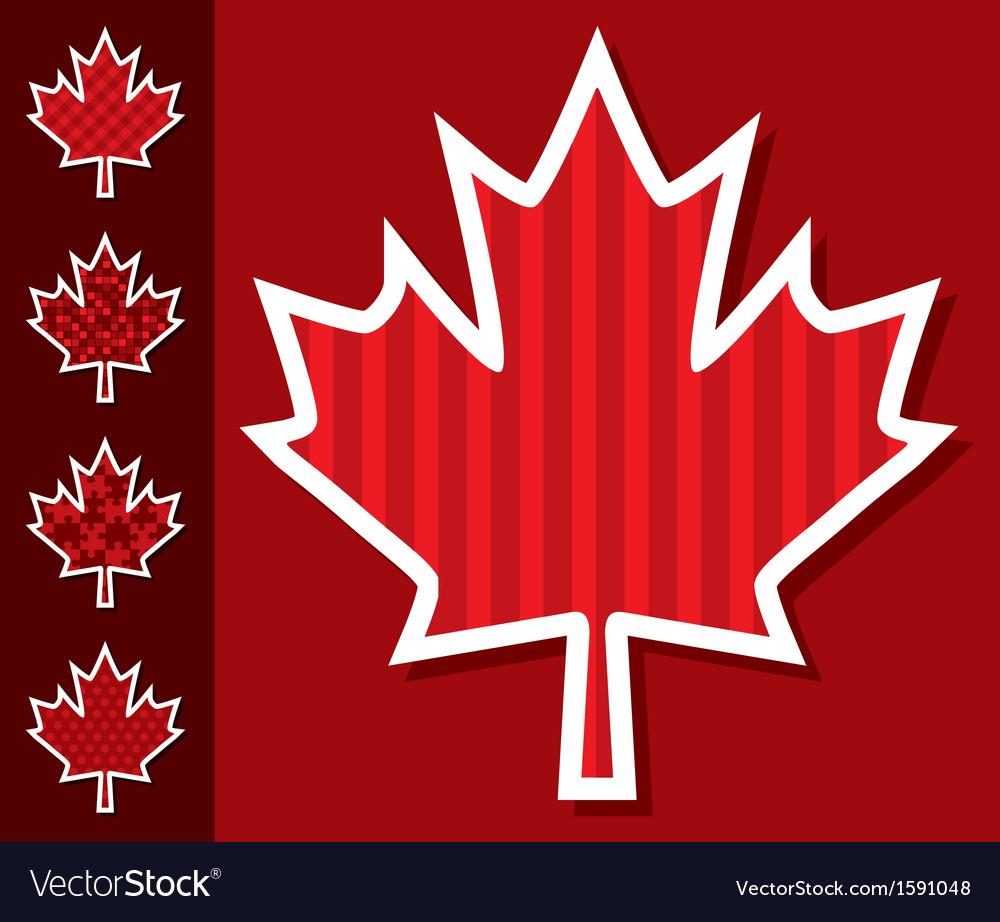 Canada day card vector | Price: 1 Credit (USD $1)