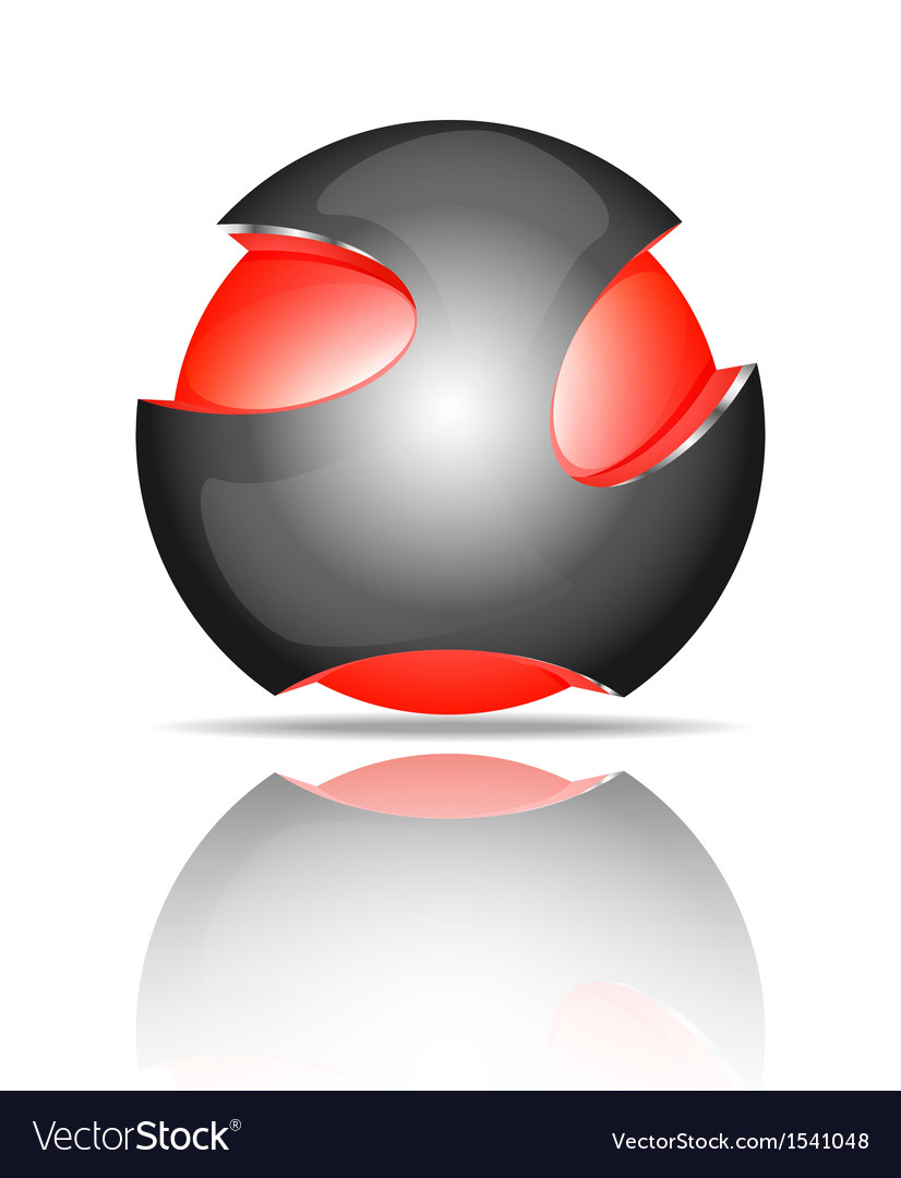 Light ball logo vector | Price: 1 Credit (USD $1)