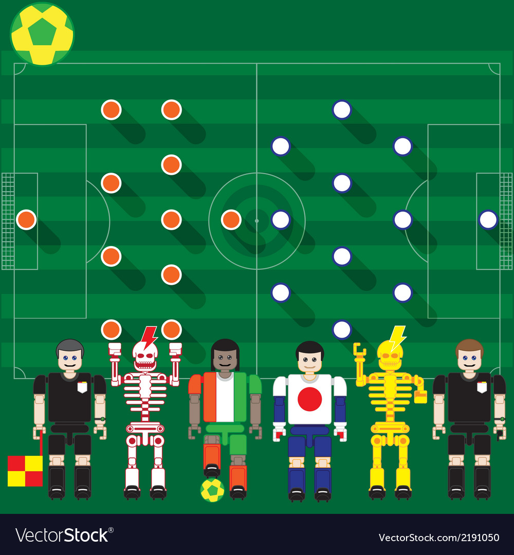 Ivory coast vs japan vector | Price: 1 Credit (USD $1)