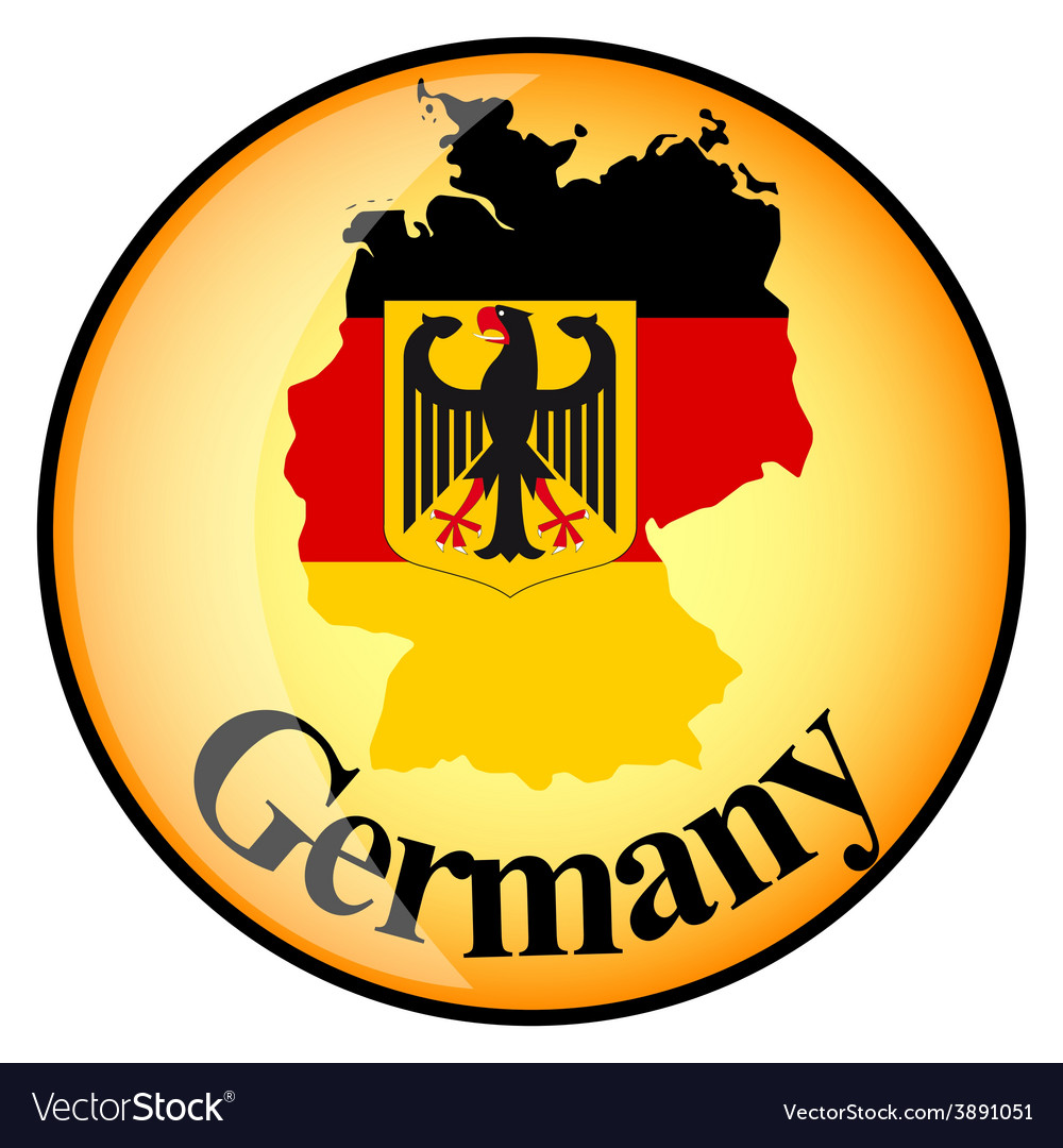 Button germany vector | Price: 1 Credit (USD $1)