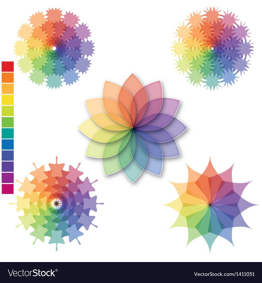 Color scale 01 vector | Price: 1 Credit (USD $1)