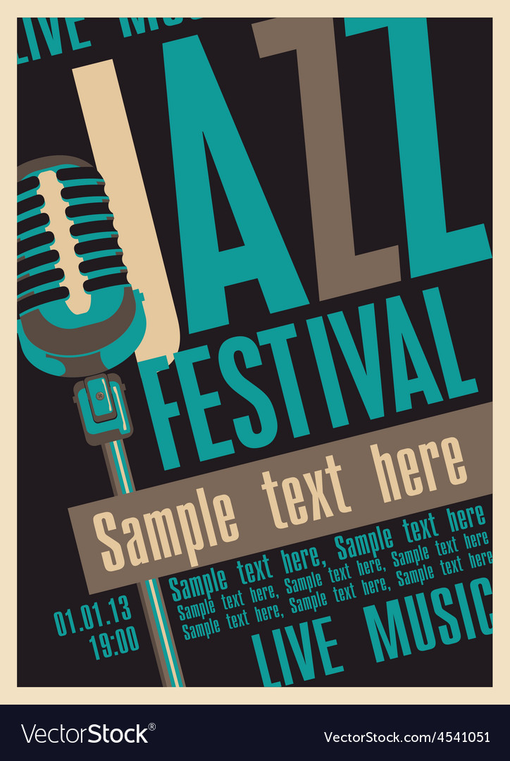Jazz fest vector | Price: 1 Credit (USD $1)
