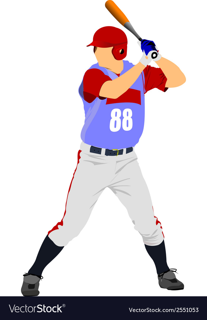 Al 0825 baseball 01 vector | Price: 1 Credit (USD $1)