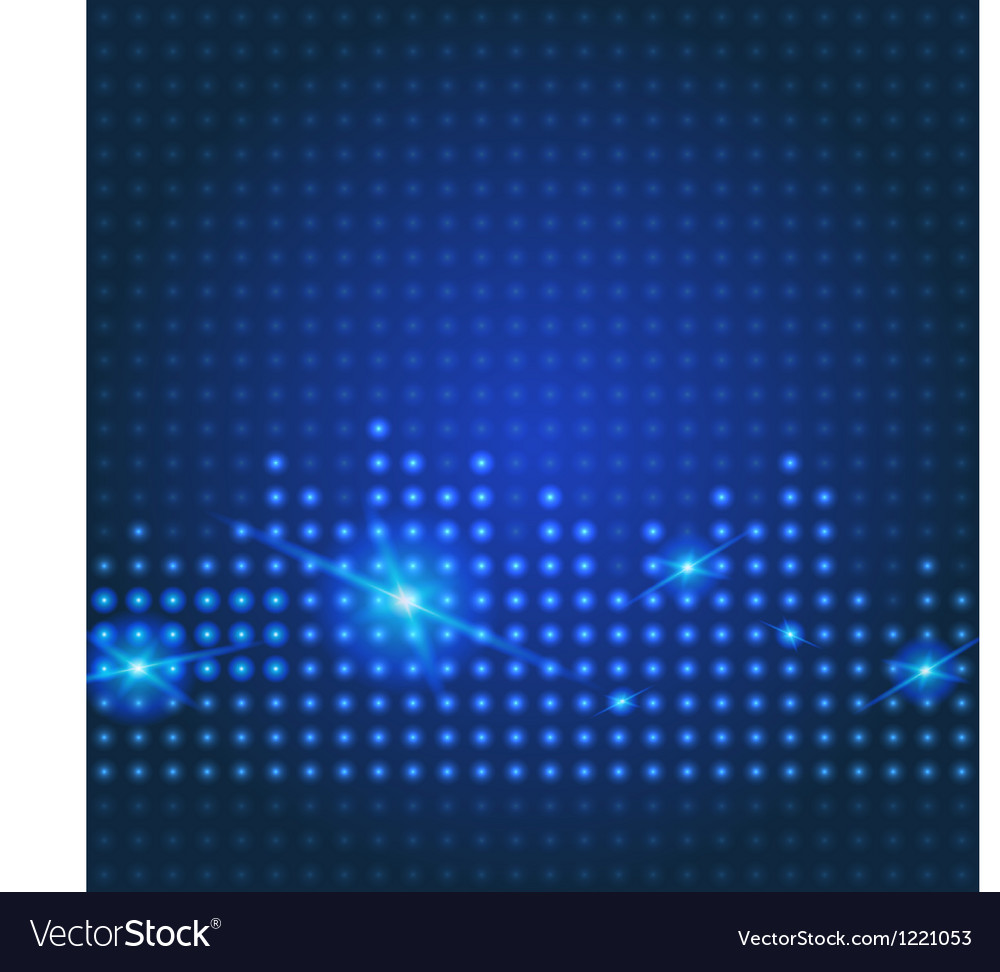 Blue technology city background vector | Price: 1 Credit (USD $1)