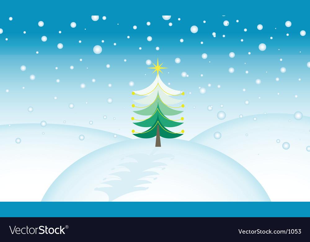 Christmas scene vector   Price: 1 Credit (USD $1)