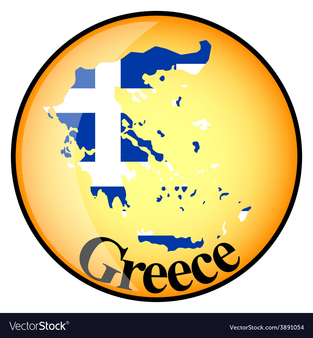 Button greece vector | Price: 1 Credit (USD $1)