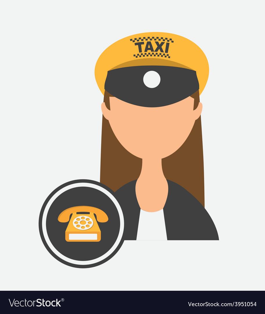 Taxi service vector | Price: 1 Credit (USD $1)