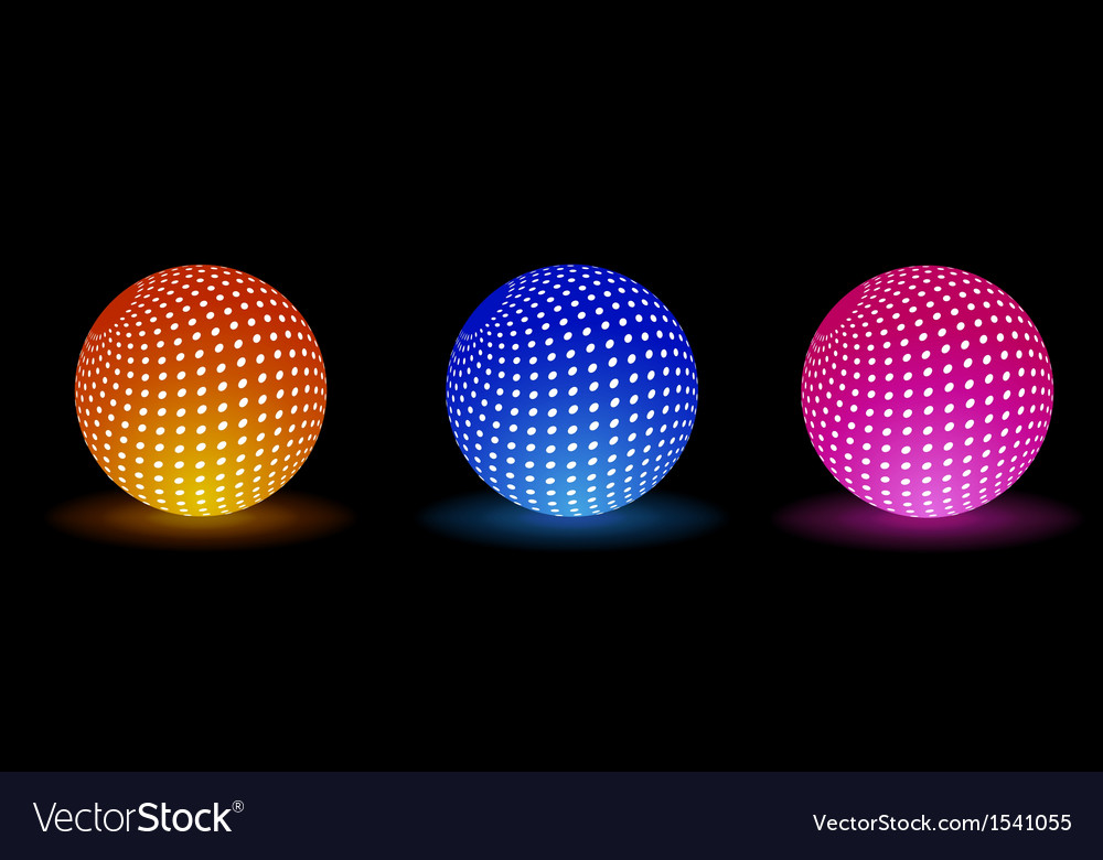 Light balls for your party vector | Price: 1 Credit (USD $1)