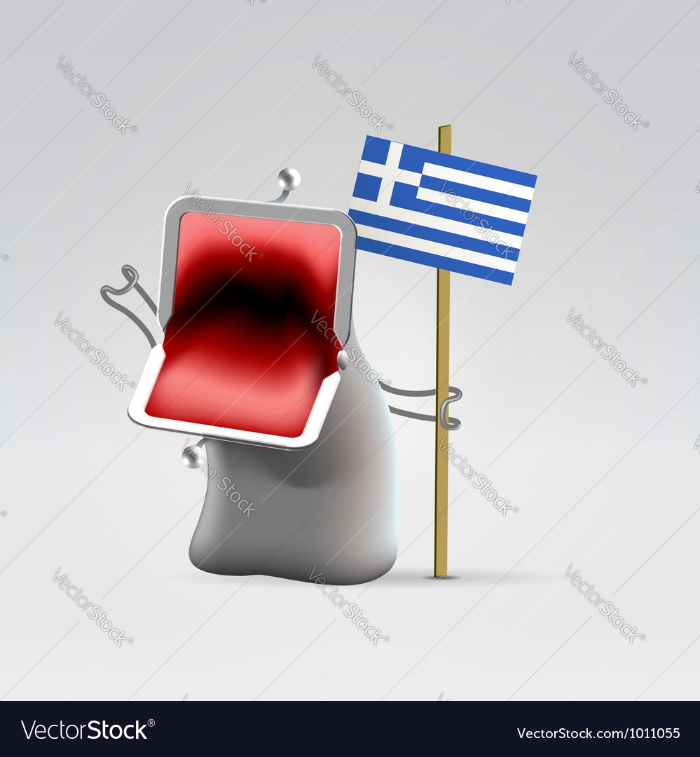 Money for greece vector | Price:  Credit (USD $)