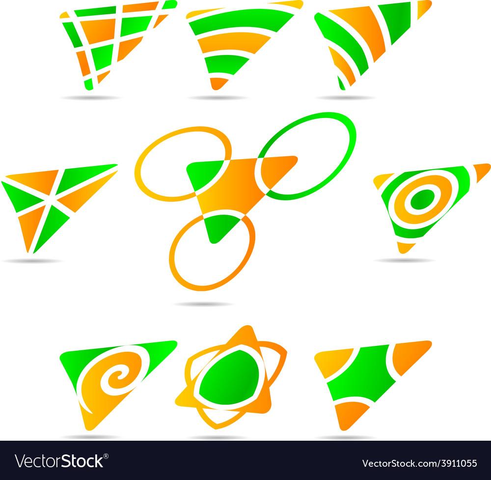 Set of company logos vector   Price: 1 Credit (USD $1)