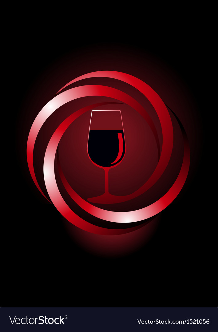 Dynamic icon for red wine vector | Price: 1 Credit (USD $1)