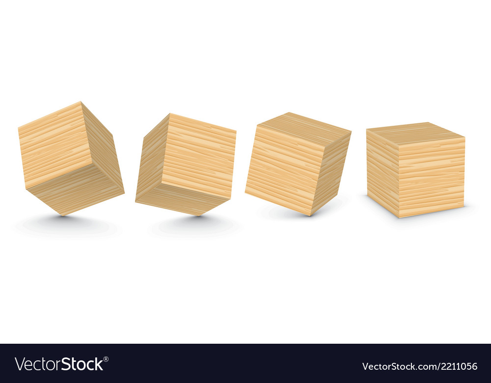 Wooden blocks vector | Price: 1 Credit (USD $1)