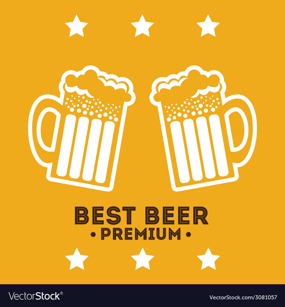 Beer design vector | Price: 1 Credit (USD $1)