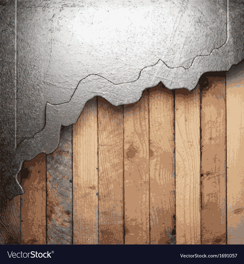 Metal and wood background vector | Price: 1 Credit (USD $1)