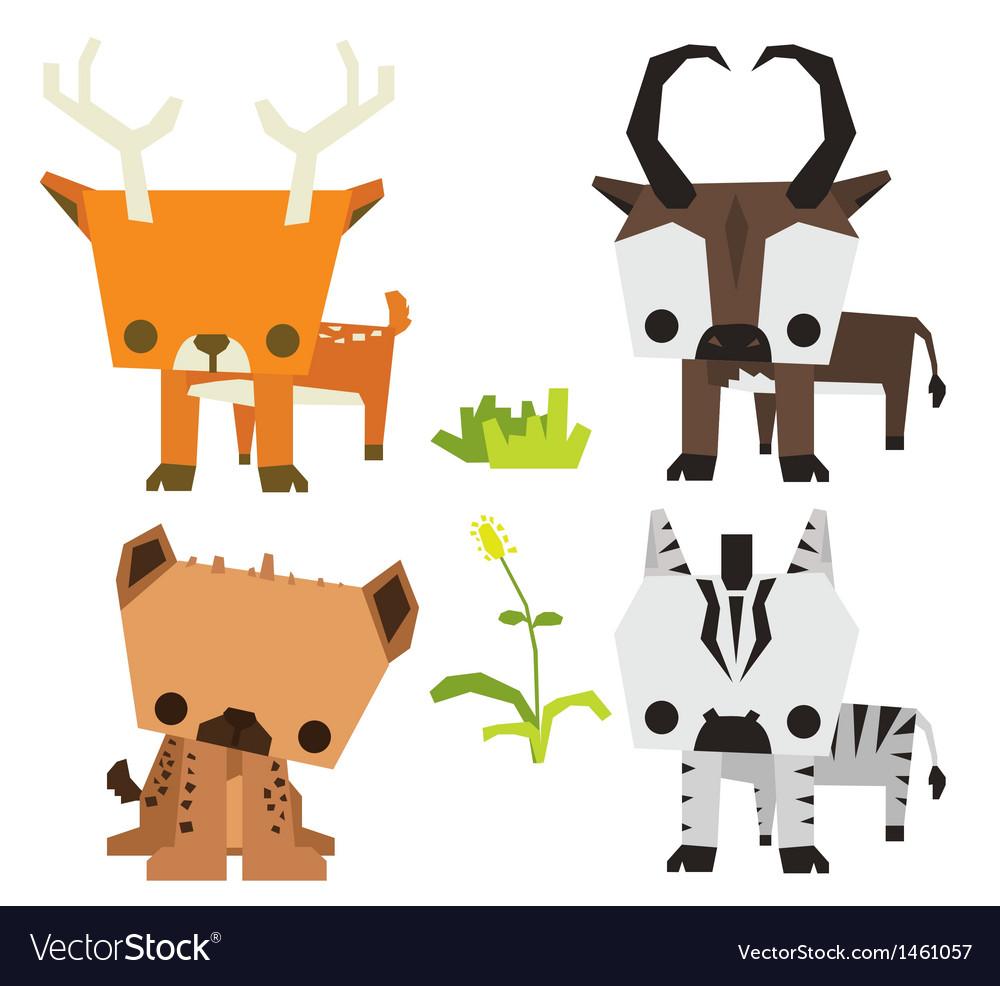 Savana wild animal vetor pack vector   Price: 1 Credit (USD $1)