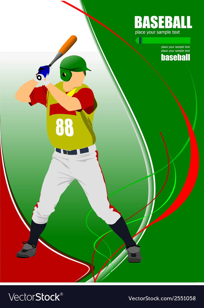 Al 0825 baseball 02 vector | Price: 1 Credit (USD $1)