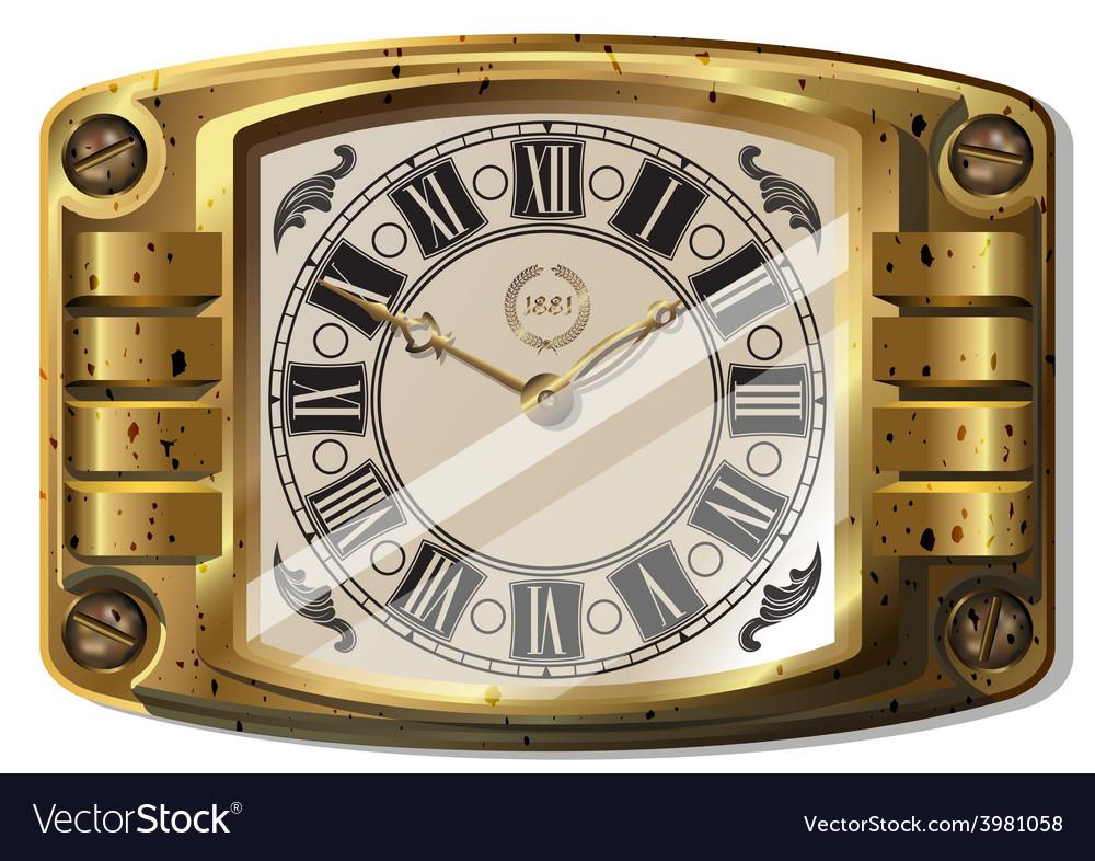Ancient clock vector | Price: 3 Credit (USD $3)