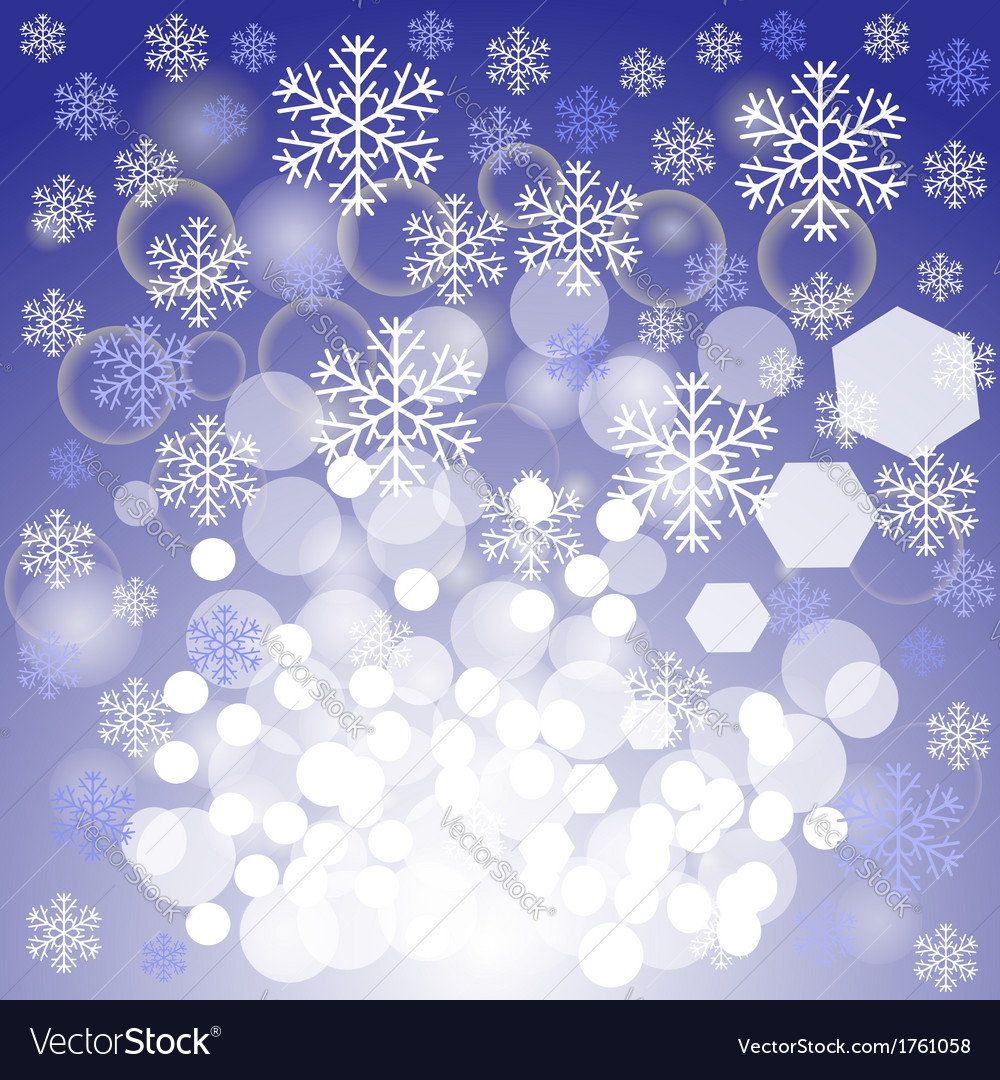 Blue xmas background vector | Price: 1 Credit (USD $1)