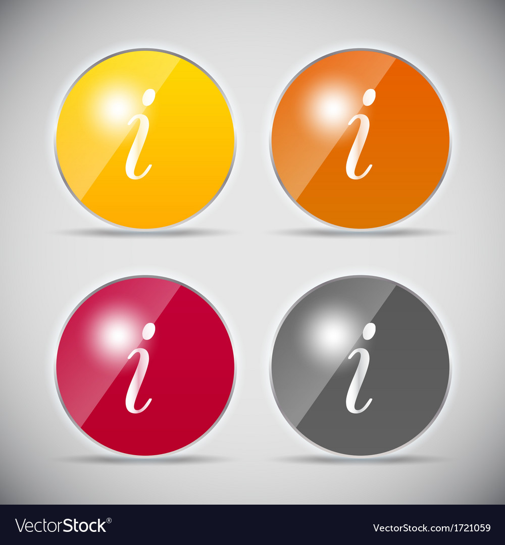 Shine glossy computer icon vector | Price: 1 Credit (USD $1)