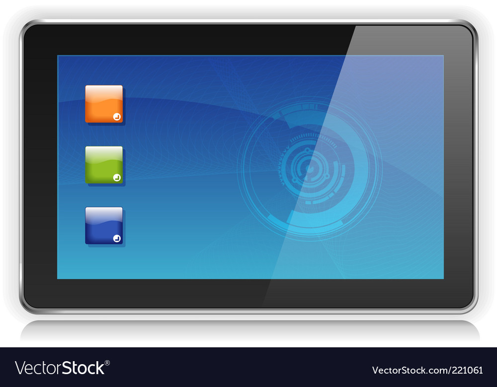 Ipad vector | Price: 1 Credit (USD $1)