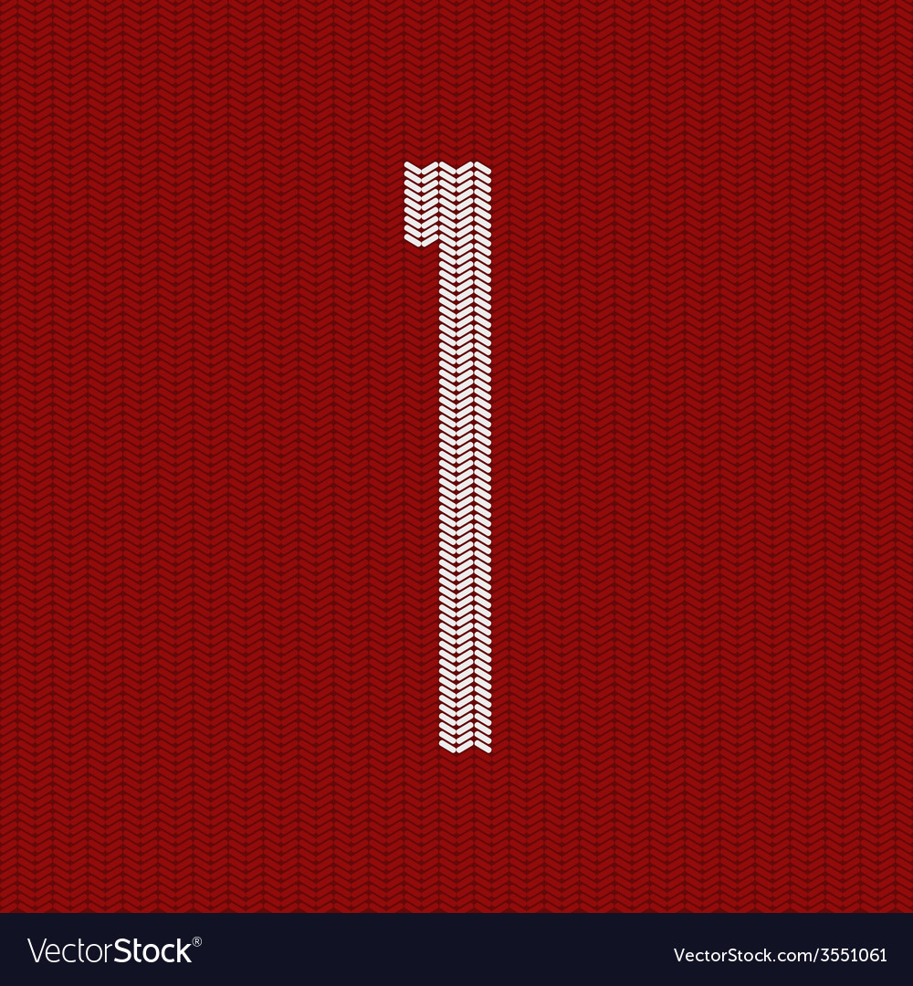 Modern red knitted texture vector | Price: 1 Credit (USD $1)