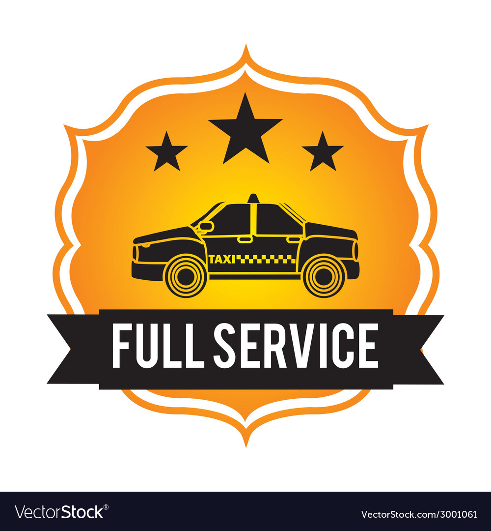 Taxi design vector | Price: 1 Credit (USD $1)
