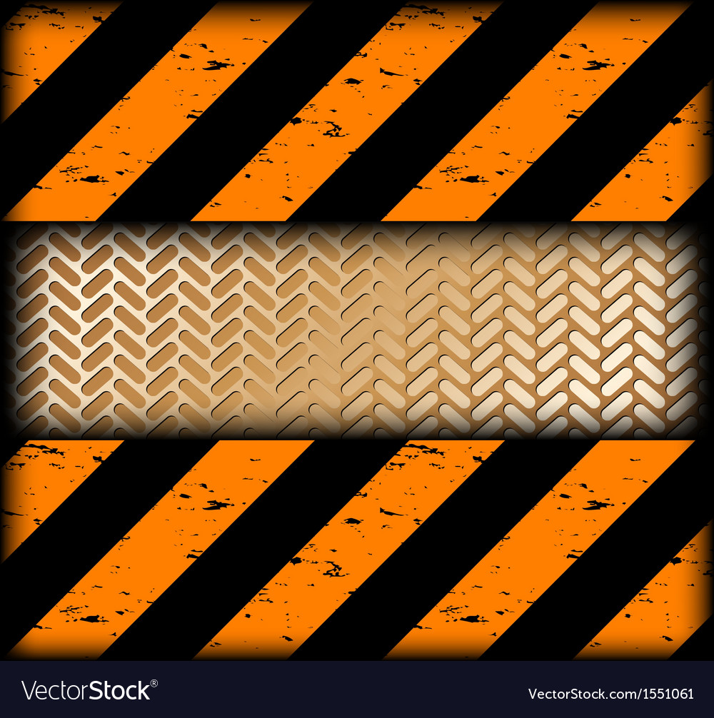 Warning strips with gold texture vector | Price: 1 Credit (USD $1)